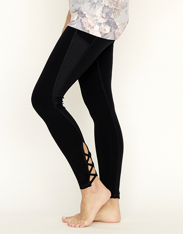 【入荷待ち商品】Lace up perfect legging