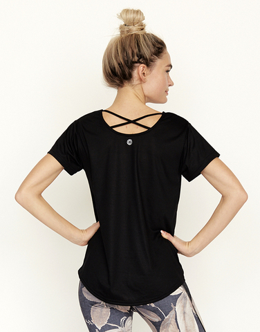Cross back T