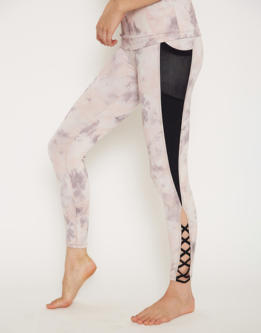 Lace up perfect legging