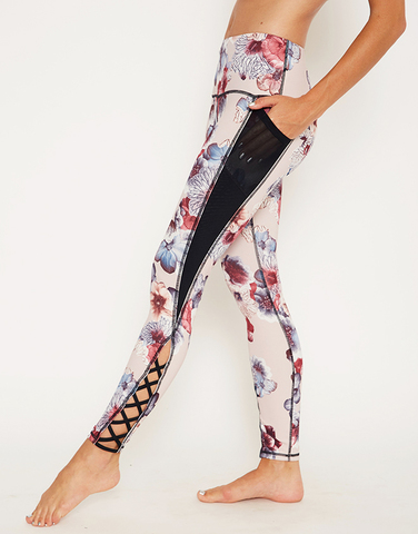 【WEBSHOP限定】Lace up perfect legging