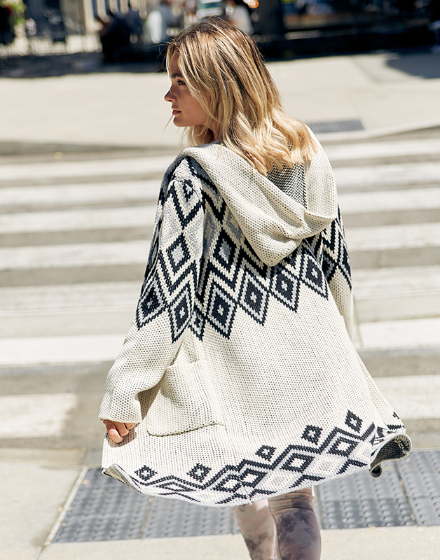 Knit Navajo gown